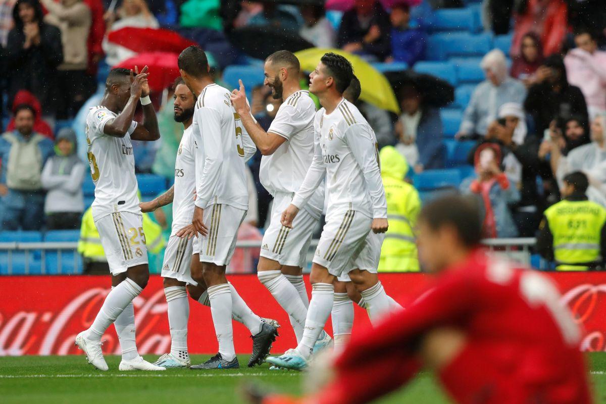 Pet golova na Bernabeu, Real pobijedio Levante