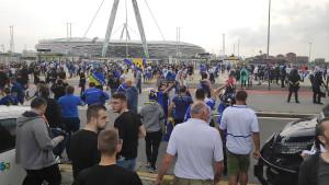 Ako sudimo po podršci, Zmajevi večeras ne mogu izgubiti: Bh. navijači okupirali stadion Juventusa!