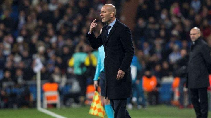 Zidane: Ne mislim da je to bilo naše najbolje poluvrijeme u sezoni
