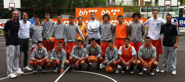 Kraj 3. smjene košarkaškog kampa
