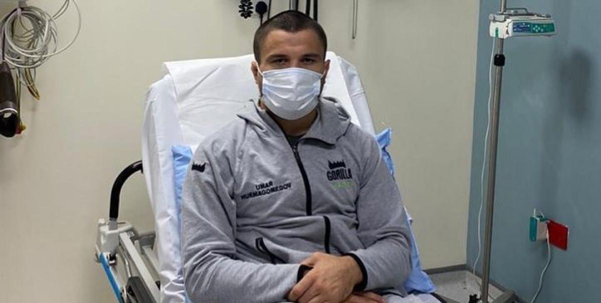 Khabib objavio zabrinjavajuću fotografiju iz bolnice: Infekcija zaustavila jedan meč na UFC 254