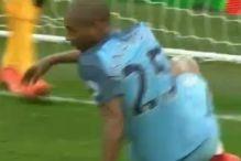 Fernandinho promašio veliku priliku za City