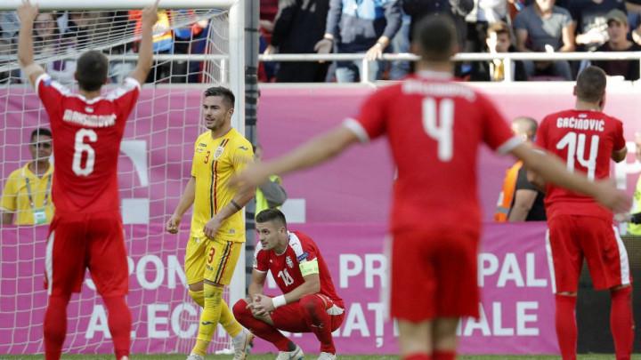 Srbija bila bolja, ali iz Bukurešta nosi samo bod
