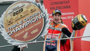 Marc Marquez šampionski završio sezonu