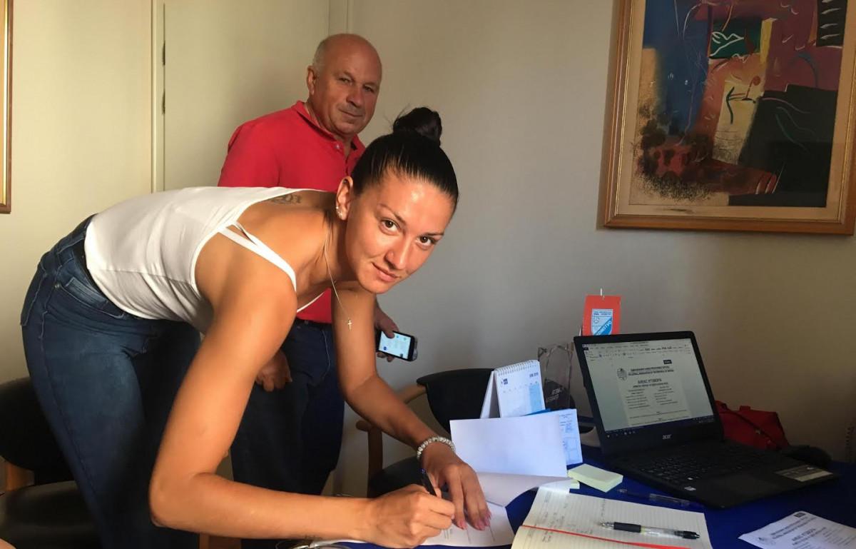 Anđelka Radišković potpisala za Bimal-Jedinstvo