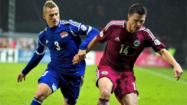 Latviji ponestalo snage: Lihtenštajn osvojio prvi bod