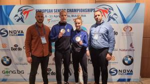 Historijski rezultat za bh. olimpijski taekwondo, Marija Štetić i Nedžad Husić osvojili srebro na EP