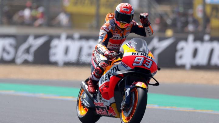 Utrka za pamćenje u Le Mansu: Marquez iskoristio sve greške protivnika