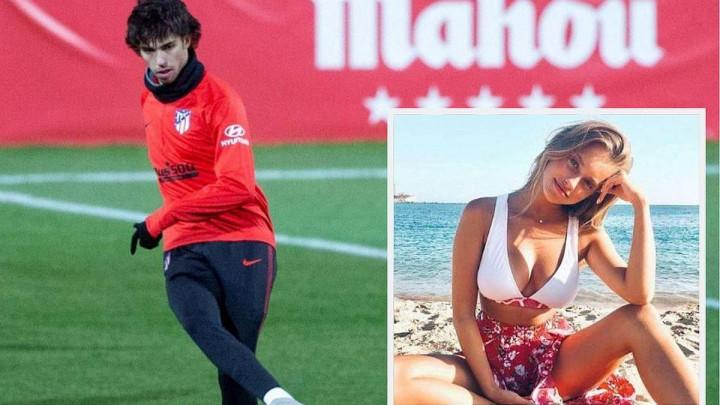 Zlatni dječak portugalskog fudbala uživa u zagrljaju fatalne manekenke
