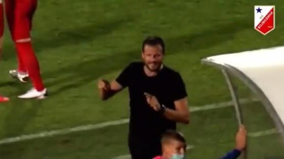 Lalatović zaplesao nakon pogotka i kopirao Osima sa vječitog derbija