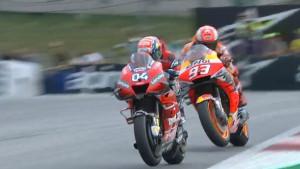 Triler u Austriji: Dovizioso Marqueza srušio u posljednjoj krivini!