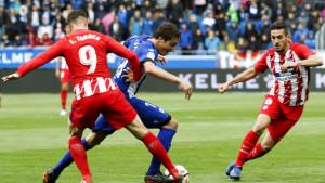 Atletico golom Gameira slavio protiv Alavesa