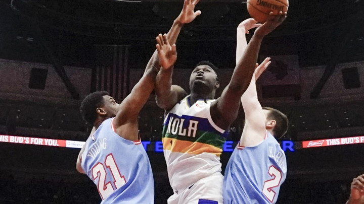 Zion razbio Trail Blazerse, Harden i Westbrook sredili Celticse