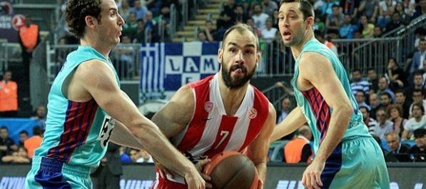 Olympiacos preko Barcelone do finala