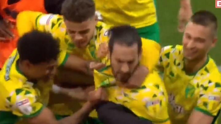"""Eurogol  Vrančića u 97. minuti za veliki bod Norwicha, komentator """"poderao grlo"""""""
