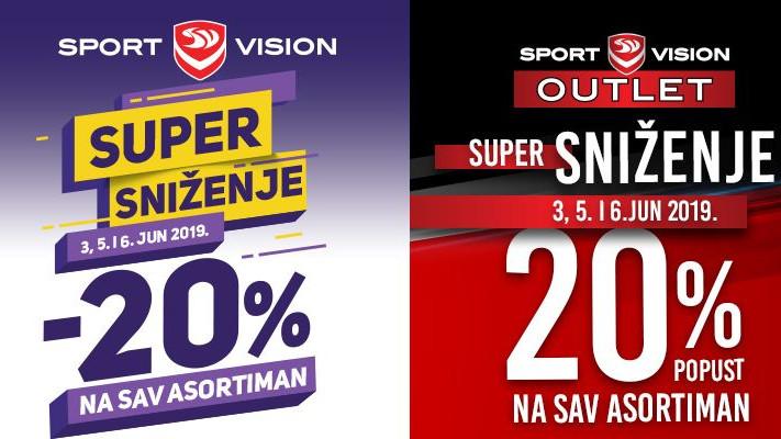 Sport Vision super sniženje!