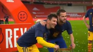 Messi se nasmijao kada je vidio šta rade njegovi saigrači, šansu iskoristio i Miralem Pjanić