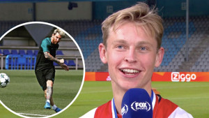Ono što je De Jong pričao o Messiju prije prvog zajedničkog treninga će oduševiti Argentinca