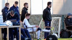 Zubanović povrijedio mišić, pauzira sedam do deset dana