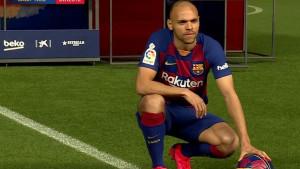Braithwaite predstavljen na Camp Nou, pa pokazao koji broj je izabrao
