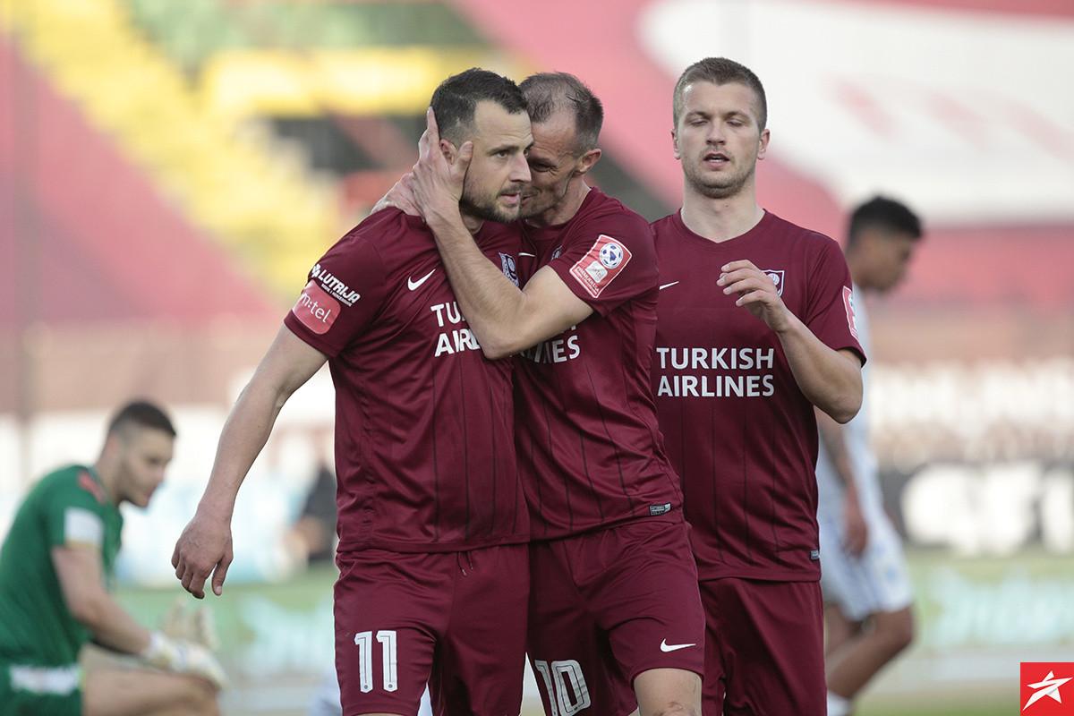 Sarajevo obradovalo nekolicinu premijerligaša