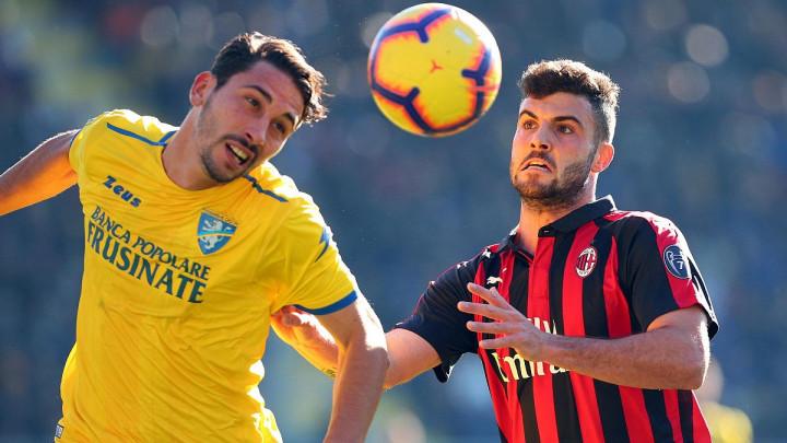 Milan se ispromašivao protiv Frosinonea