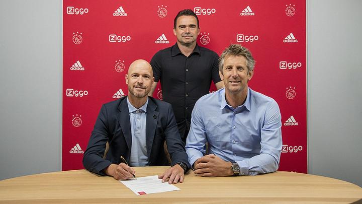 Ten Hag produžio ugovor sa Ajaxom i stavio tačku na špekulacije