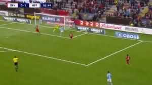 Nalić ušao u igru i samo osam minuta kasnije zabio pogodak