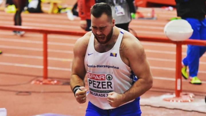 Pezer prvi na atletskom mitingu u  Biberichu