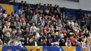 OKK Spars je u modi: Pune tribine dvorane na Grbavici vraćaju nadu u bolje sutra bh. košarke