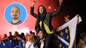 """Britancu utakmica Zmajeva najomiljenija u životu: """"Rakija, smijeh i cijela bosanska dijaspora"""""""
