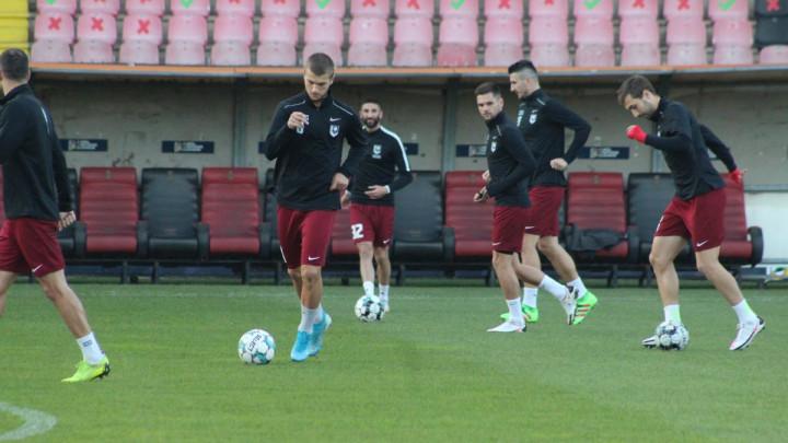 FK Sarajevo treniralo u Zenici, sutra se nadaju da će ispisati historiju bh. nogometa