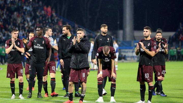 Milan u historijskom minusu