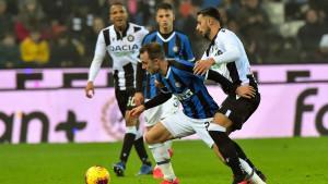 Inter na krilima Lukakua srušio Udinese, Eriksen se nije proslavio na debiju