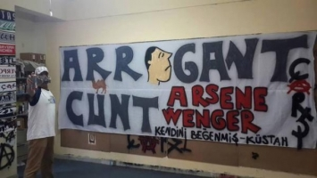 """Wenger je za navijače Bešiktaša """"arogantna piz**"""""""