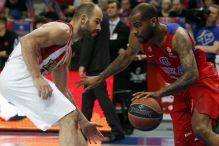 Teodosić i De Colo vodili CSKA do pobjede nad Olympiakosom
