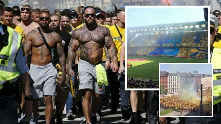 Fešta u žutom! 22.000 ljudi u korteu, slavi se trofej nakon decenije čekanja