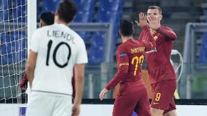 Edin Džeko pogodio i izborio penal, Roma u nokaut fazi Evropske lige