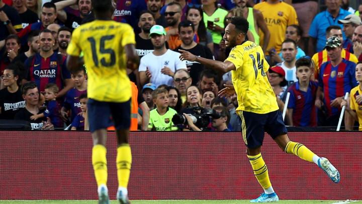 Aubameyang za trijumf Arsenala na St. James Parku