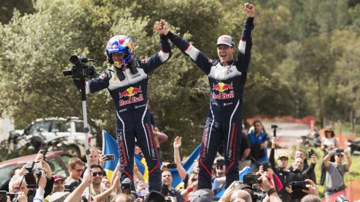 Ogier slavio na Tour de Corse