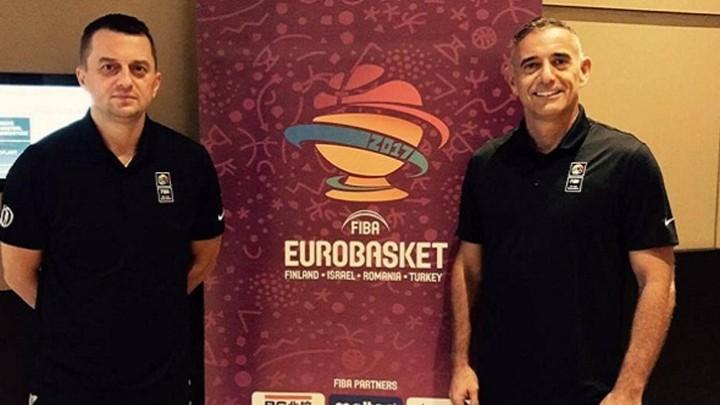 Obradović i Zurapović sude završnicu Eurobasketa