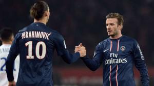 Beckham na komičan način čestitao Ibrahimoviću na 500. golu