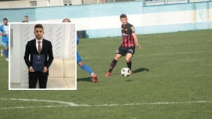 Ko kaže da fudbal i škola ne mogu zajedno: Diplomirao prvotimac Slobode