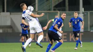 UEFA objavila fotografiju s meča Italija i BiH uz pitanje: Ko nedostaje?