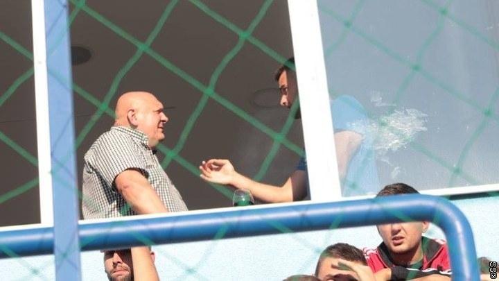 Petrović posmatrao derbi u Simin Hanu