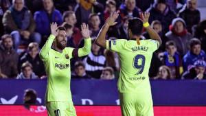 Messi i Suarez ove sezone dali više golova od Real Madrida