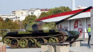 UEFA se oglasila zbog tenka koji je postavljen ispred Marakane
