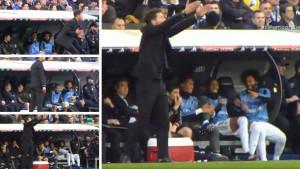 Igrači Real Madrida se smijali Simeoneu kako vodi utakmicu