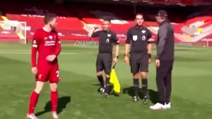 Bizarna scena s Anfielda: Koja je svrha što ste tu?