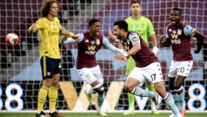 Gol-razlika drži Villanse u životu: Aston Villa srušila Arsenal i pobjegla iz opasne zone
